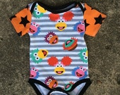 Fraggle Rock Baby Onesie 0-3 month size
