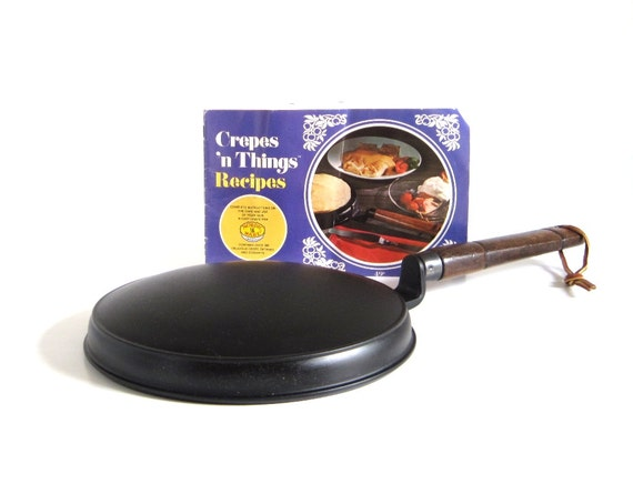 Nordic Ware Crepe Maker Crepes N Things w/ Dipping Pan & Recipe Booklet