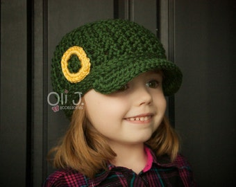 Toddler/Child College Themed Brimmed Beanie