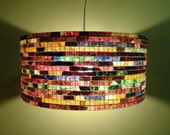 Lighting Chandelier Pendant Light Ceiling Hanging Lampada Coffee Filter Art