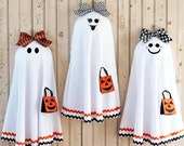 Ghost Door Wreath - Halloween Wreath - Fall Wreath -  Six Face Options - Fall Door Decor - Quick Ship-