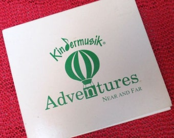 Kindermusik CD childrens music Near and Far 1996 Home CD 25 songs children choir instruments musical kids learning teaching homeschool