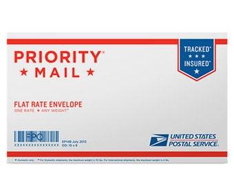 Rush Order - Priority Mail Upgrade