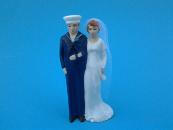 Navy sailor wedding