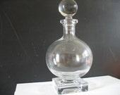 Vintage Decanter/ Bottle - Glass Stopper