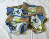 Training Underwear Made with Curious George Fabric