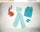 On Sale Vintage Barbie Francie Doll , 1972 Right for Stripes , #3367 , complete fashion outfit
