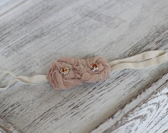 3-6m Elastic Headband, Baby Girl Gift