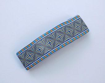 Polymer Clay Barrette, hair clip