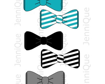 Printable Bow Tie, Bow Tie Cut Outs, Bow Tie Baby Shower Decoration, 1st Birthday Bow Tie Decor, Photo Booth Ideas #BT02