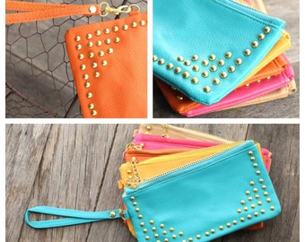Adorable Zipper Clutch
