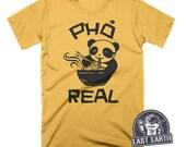 Pho Real Panda T Shirt Funny Foodie Tees Pho Soup Vietnamese Food Gift Ideas Panda Bear Shirt Top Ramen Shizzle Pho Soup Mens Funny Tees Pun