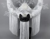 Snowflake Headdress Ice Queen