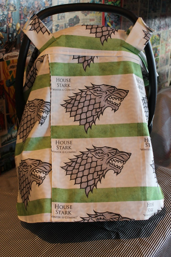 car seat canopy cover game of thrones ready to ship. Black Bedroom Furniture Sets. Home Design Ideas