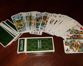 Grimaud French Tarot Cards Deck, 78 Card Set, Complete, Baptiste Paul Grimaud, Made in France