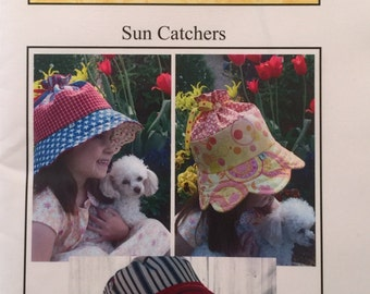 Buttercup Quilts Sun Catchers Hats Pattern, New Unused, Petals and Little Mister Sun Hats, Childrens Hats Pattern