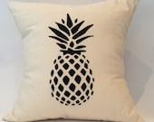 "18""X18"" Hawaiian Pineapple Pillow Cover"
