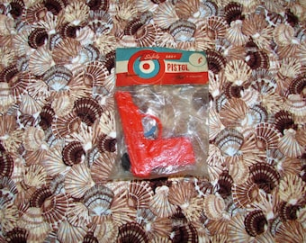 Vintage 1960's Hard Plastic Toy DART Gun Mint in Package made in Hong Kong