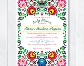 Cinco De Mayo Invite, Fiesta Baby Shower Invitation, Mexican Fiesta Invite, Fiesta Birthday Invite, Couples Baby Shower Invite, #0100