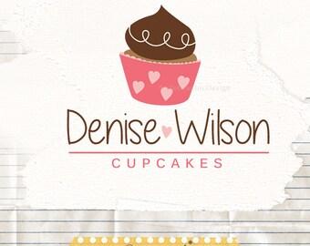 Cake logo premade - Cake Business Logo Design -  bakers logo - cook logo - cupcake design