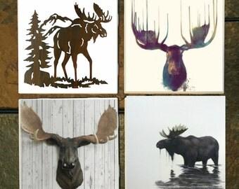 Moose Coaster Set