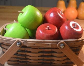 Pretend Fruit Apples Play Food Wood