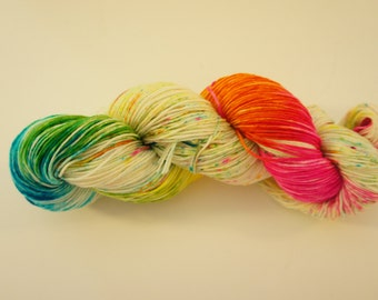 Piccadilly...on Pixie, Fingering Weight 100% SW Merino