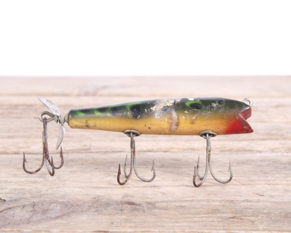Old Fishing Lure Old Wooden Fishing Lures Vintage Fishing