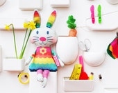 Easter Bunny Doll personalised sewing kit