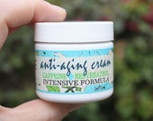 Best Selling Anti-Aging Face Cream // Firming Eye Cream with Caffeine, Resveratrol, Shea Butter and Active Essential Oils