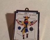 Vintage kachina doll pin