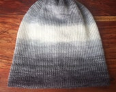 Knit hat, winter hat, mohair