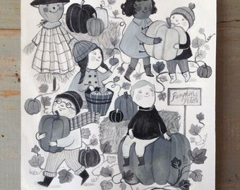 ORIGINAL - Pumpkin Patch