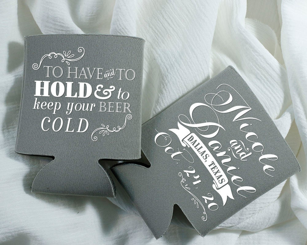 Wedding Favors To Have And To Hold Wedding Favor Monogrammed