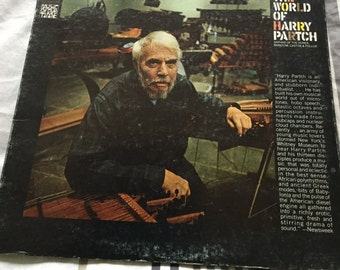 Harry Partch The World Of Harry Partch on Columbia 360 sound records tone pioneer watch for it on Paul Simons new Lp Stranger to Stranger