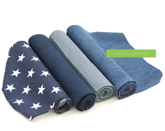 """Denim Table Runner by We Can Package - 14"""" x 108"""""""