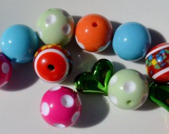 Sample Collection, Mixed Beads, 12CT, 20mm and up, B1A