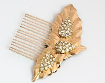 Wedding Hair Comb, handmade with a Vintage jewelry, Vintage Wedding Jewelry, Hair Combs for Wedding, Hair Comb for wedding