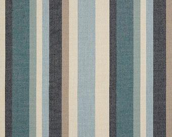 Sunbrella SCOPE CAPE pillow cover indoor outdoor striped decorative throw accent cushion cover 40465-0004 oba canvas co.