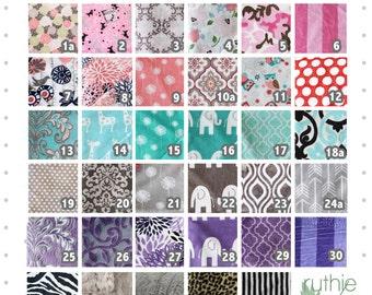 Custom Minky Blanket, Minky Blanket, baby gift, baby girl blanket, personalized minky blanket, baby girl minky, gift for women, wedding gift