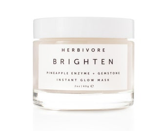 Brighten Pineapple Enzyme + Gemstone Instant Glow Facial Mask