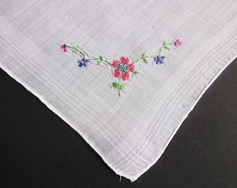Vintage Handkerchief, Petit Point, Embroidered Hankies, Handkerchiefs, Hankerchief, Ladies Hankies, Ladies Handkerchief, All Vintage Hankies