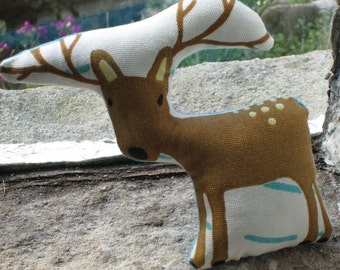 Cute Printed Reindeer Pin Cushion
