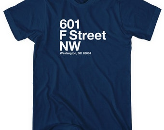 Washington D.C. Hockey Stadium T-shirt - Men and Unisex - XS S M L XL 2x 3x 4x - Washington D.C. Tee, Sports, DC - 4 Colors