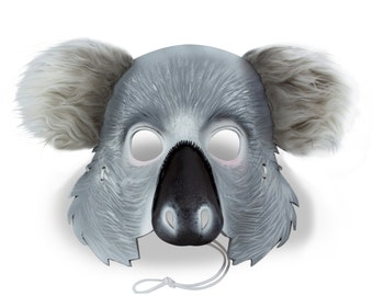 Leather Koala Mask