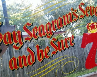 Seagram's Seven Mirror