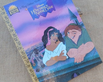The Hunchback of Notre Dame  ~  Disney's The Hunchback of Notre Dame  A Big Golden Book  Copyright 1996