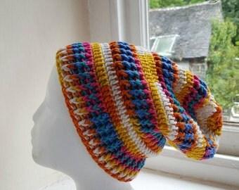 Crochet Slouch / Tam Hat Handmade in wales UK