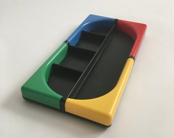Primary Colorblock Divided Desk Organizer Tray by TINO TT DESIGN
