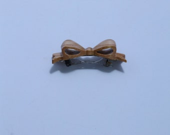 Small Red Oak Hair bow